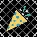 Confetti Party Popper Icon