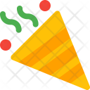 Confetti Christmas Icon