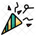 Confetti Party Birthday Icon