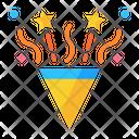 Confetti Cannon Icon