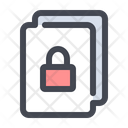 Document Information Classified Icon