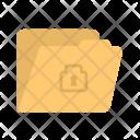 Confidential Folder Data Icon