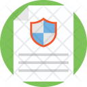 Confidential Archive Document Icon