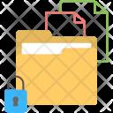 Confidential Data Document Icon