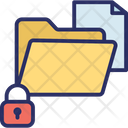 Confidential Data Confidential Information Data Protection Icon
