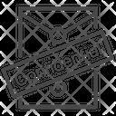 Confidential Document Icon