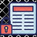 Confidential File Icon