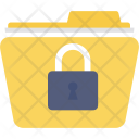 Confidential Folder Password Icon
