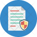 Confidential Information Document Protection Encryption Icon