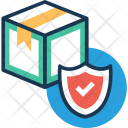Secure Logistics Shield Icon