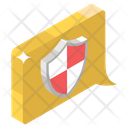 Confidential Talk Secret Chat Secure Communication Icon