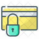 Secure Card Confidentiality Lock Icon