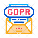 Confidentiality Document Gdpr Document Confidentiality Icon
