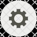 Config Configuration Gear Icon