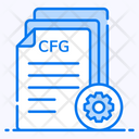 Config File File Setting File Options Icon