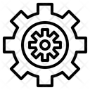 Configulation Setting Gear Icon