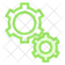 Settings Configuration Gears Icon
