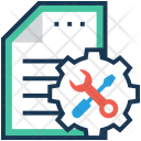 Configuration Spanner Screwdriver Icon