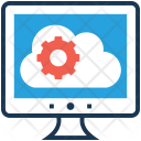 Configuration Cloud Monitor Icon