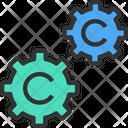 Copyrightm Configuration Setting Icon