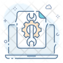Configuration System Setting System Configuration Icon