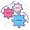 Cogs Cog Wheels Gearsettings Icon