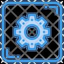 Configuration Gear Setting Icon