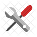 Configuration Setting Wrench Icon