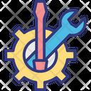Configuration Concept Maintenance Setting Service Icon