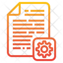 Configuration File Configuration Cogwheel Icon