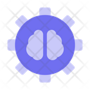 Setting Gear Artificial Intelligent Icon