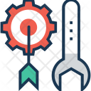Preferences Target Spanner Icon