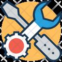 Configure Setup Cog Icon