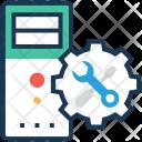 Configure Maintenance Server Icon