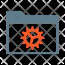Configured Foler Settings Icon