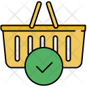 Confirm basket Icon