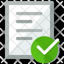 Confirm document Icon