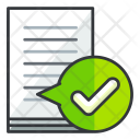Confirm document Icon