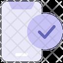 Smartphone Mobile Phone Online Registration Icon