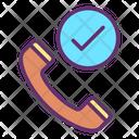 Confirmation Call Icon