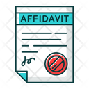 Confirmed Affidavit Icon