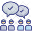 Argument Conflict Disagreement Icon
