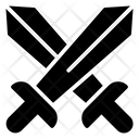 Conflict Fight Sword Icon