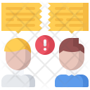 Conflict Dialog Discussion Icon