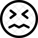 Confounded Emoji Smiley Icon