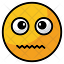 Confounded Emoji Face Icon