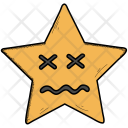 Confounded Scrunched Eyes Icon