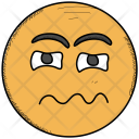 Confounded Face Emoji Icon