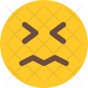 Confounded Cry Emoji Icon