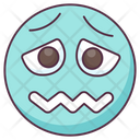Confounded Emoji Confounded Expression Emotag Icon